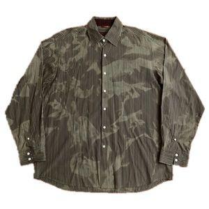 Roar Long Sleeve Shirt Camouflage Army Green 2XL